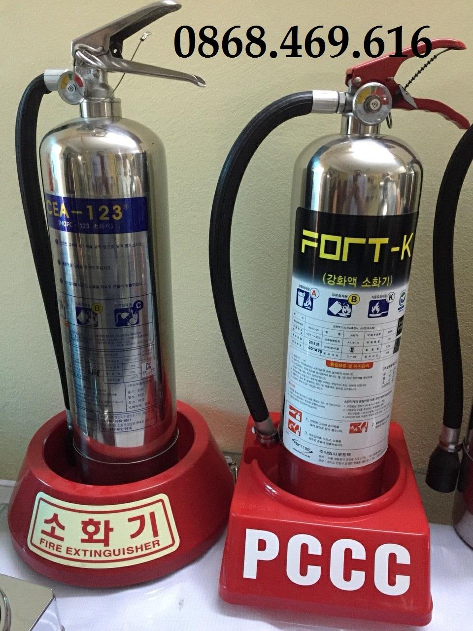 bình chữa cháy loại k 2